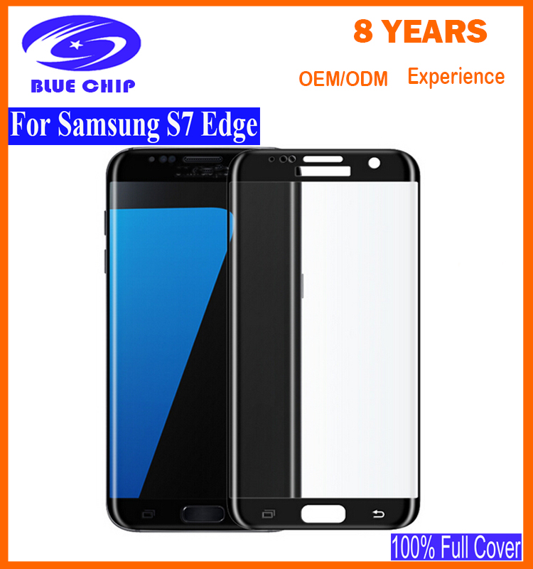 Super quality best selling screen protector mobile accessories for Samsung Galaxy S7 edge