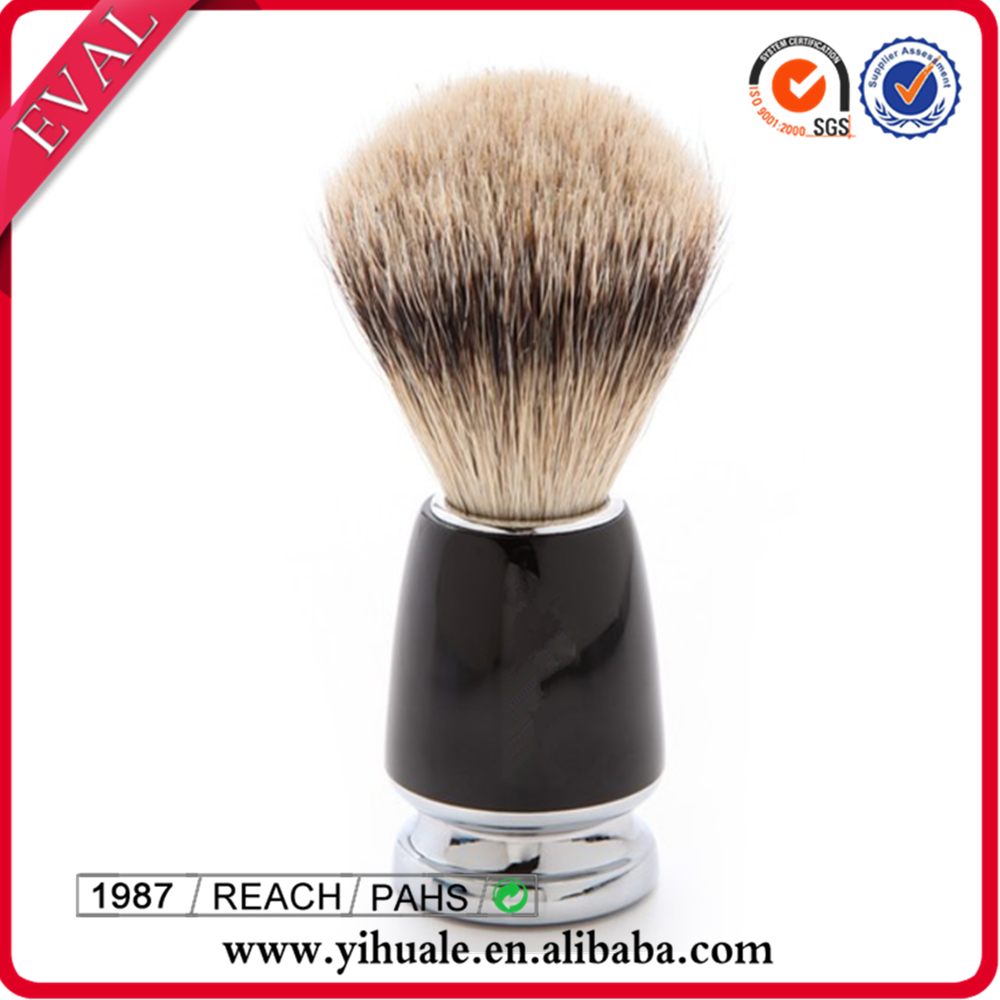 Manufacturer OEM silver shaving brush handle