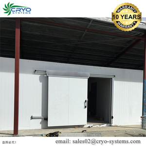 +10C~-60C Beef distributors Outdoor cold storage design walk in freezer panels for sale