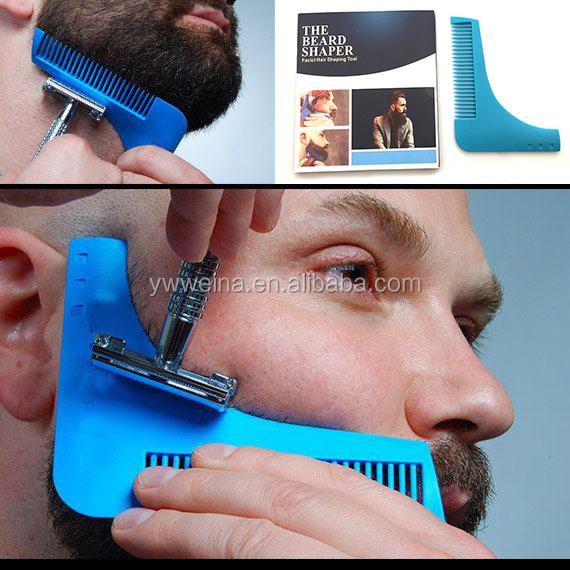 Alibaba.com / Stock The Beard Shaping Tool /Beard Template/Beard Comb Facial Hair Tool