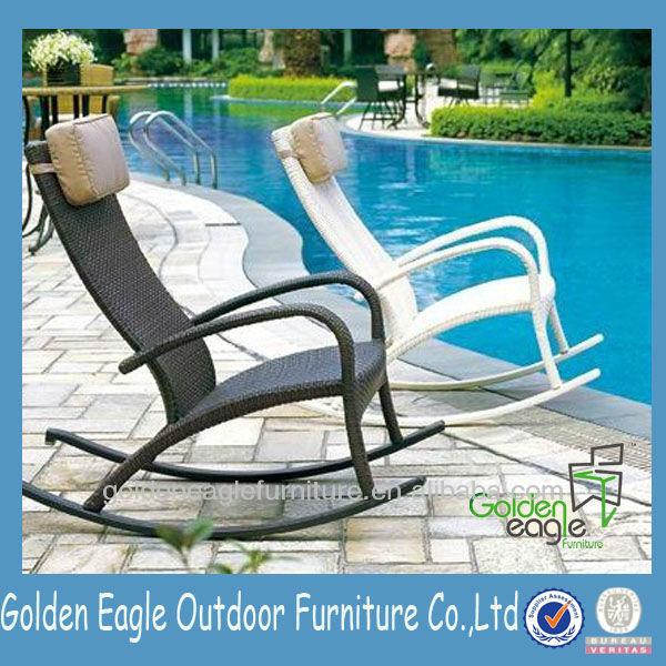 PErattan Aluminum Rocking Chair