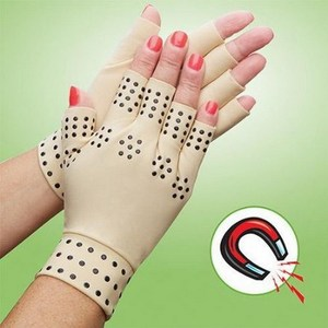 Magnetic Silicon Dots Blood Circulation Arthritis Magnet Gloves