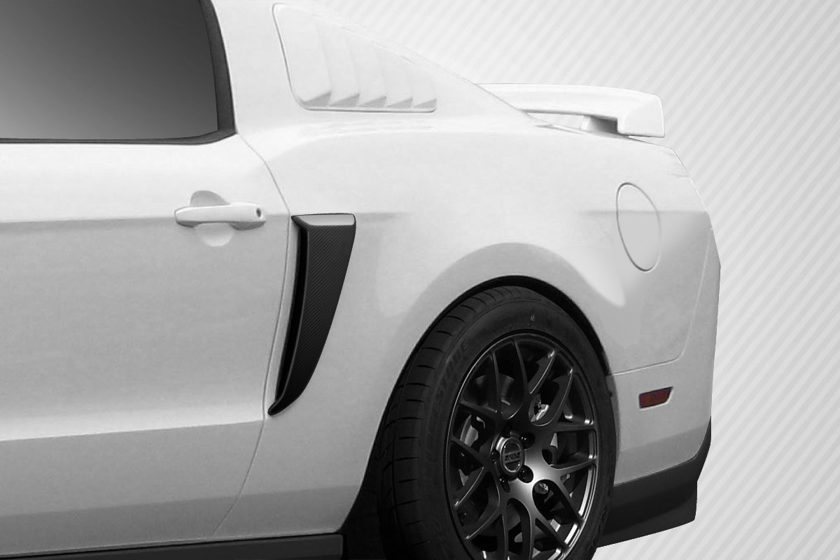 2010-2014 Ford Mustang Carbon Creations Boss Look Side Scoops - 2 Piece