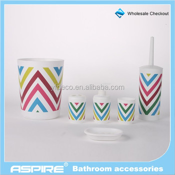 Matching Set Geometry Bath Set