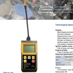 Car Engineer ignition analyzer