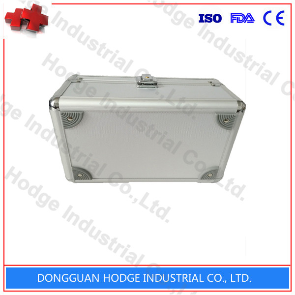 Empty metal or plastic big first aid box