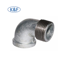 MF Elbow malleable iron pipe fitting bs standard MI GI thread plumbing fittings