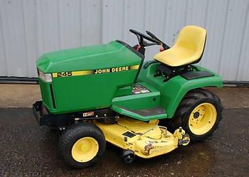 John Deere 245 Lawn Garden Tractor 48