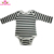 Hot Wholesale Buffalo Plaid New Born Long Sleeve Rompers Onesie For Infant Baby Boy And Girls