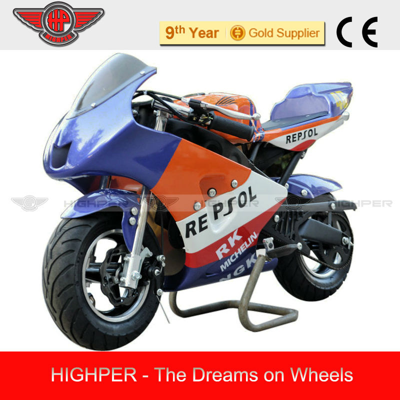 49cc Petrol Mini Motorcycle, Mini Motorbike for Kids (PB009)