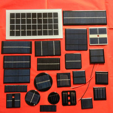 Small Size Monocrystalline Epoxy Mini Solar Panel 0.3w 5v