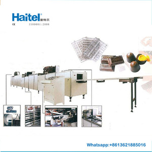 top grade high quality chocolat moulding production line high capacity