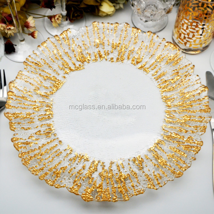 Cheap Clear Wedding Decoration Charger Plate Wholesale - Buy Wedding ...
