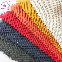 China textile airmesh 100 polyester 3d air mesh knitted fabric for shoes seat cover backpack