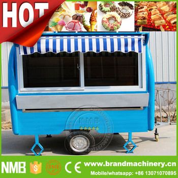 Ponsel Kebab Popcorn Dapur Keranjang Jus Makanan Cepat Saji Trailer Untuk Dijual