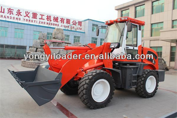 3 ton china mini wheel loader