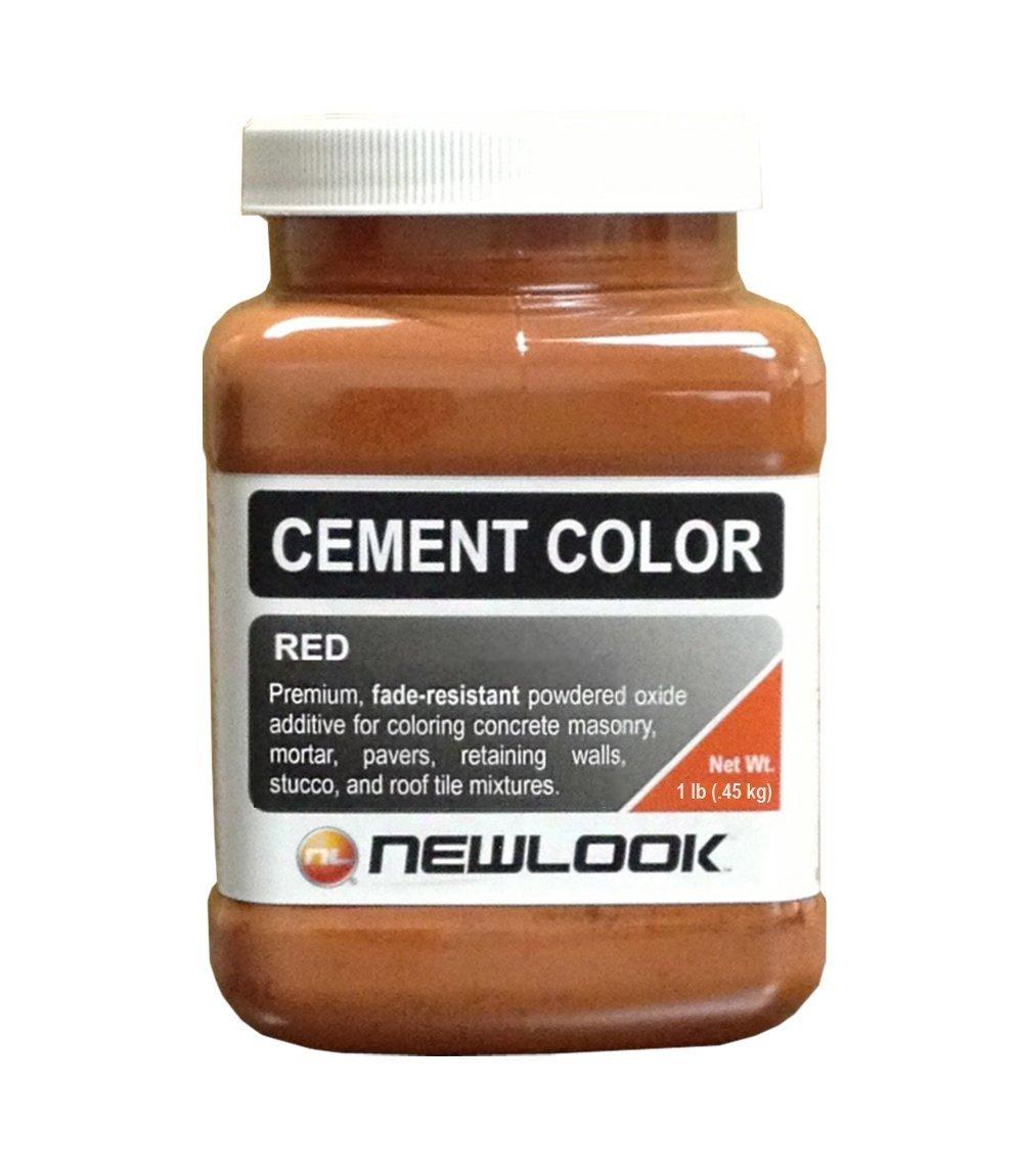 CEMENT COLOR 1 lb. Red Fade Resistant Cement Color
