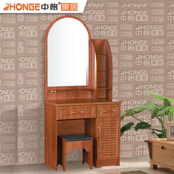 Pvc Bedroom Makeup Table Wooden Mirror Dresser Modern Mdf Dressing Setswhole Product On