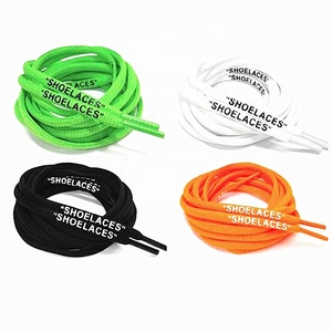 "2018 Fuzhou YoYo 63"" Oval Shoe Laces With Print OW Signed Jointly Shoelaces for Off White Shoes"