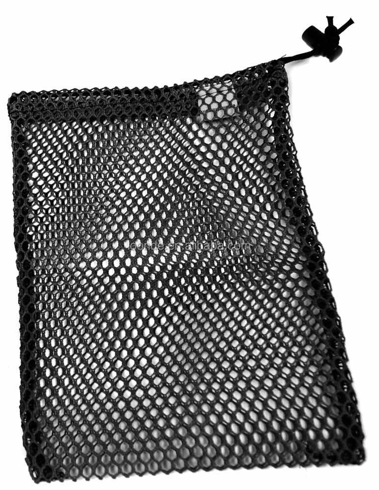 Lightweight mesh net swim equipment bag for swimming
