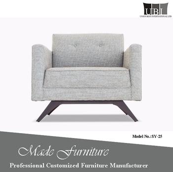 High Density Sponge Cheap Cut Pile Sofa Chair
