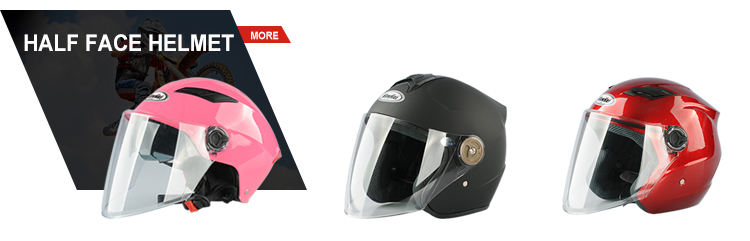 replacement mini full face cross motorcycle vintage helmet dual bubble 3 Snap visor for harley moto