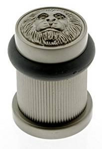IDH by St. Simons 13090-015 Lion Head Bullet Bumper Door Stop
