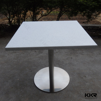 Australia Design Stone Top Dining Tables Stainless Steel Dining