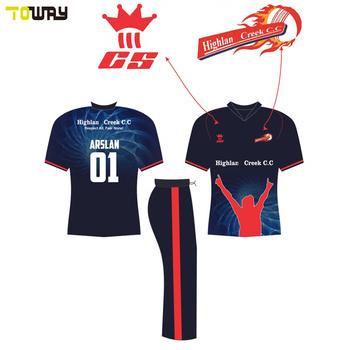 New Model Printed Cricket Jersey Logo Design - Buy Cricket Jersey ... 9d2db4249