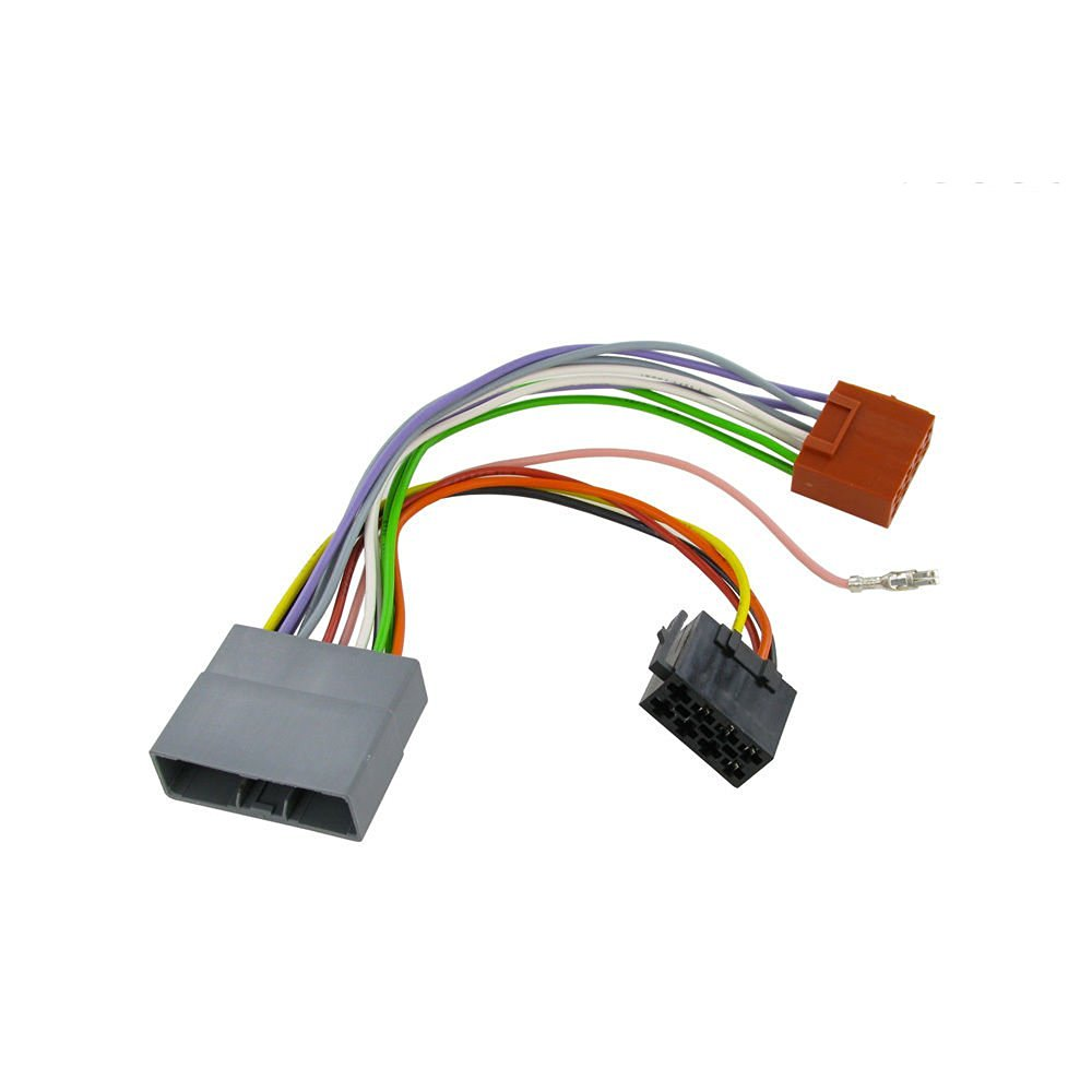 Get Quotations · Wiring Harness Adapter for Honda Fit 2007- ISO stereo plug  adaptor