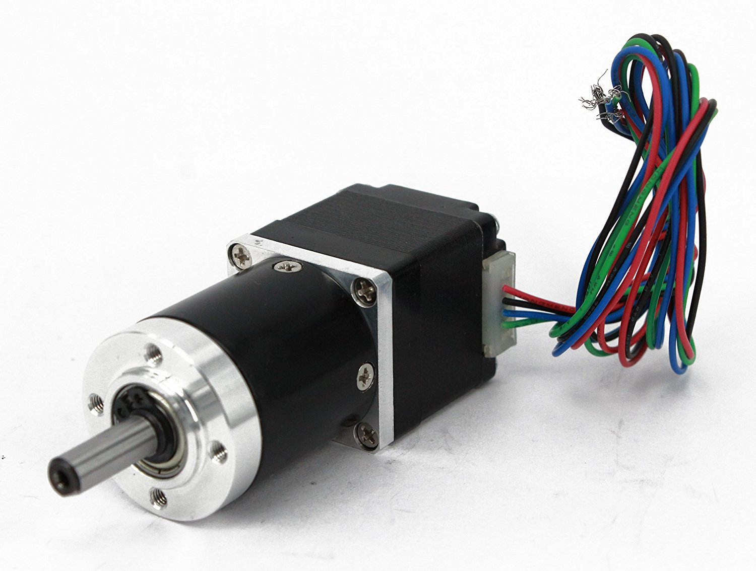 Gear Stepper Motor Nema 11 L=30mm with Planetary Gearbox Ratio 9~20:1 (Ratio 9:1)