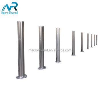 ASTM SS 304 316 316L Stainless Steel Bollard /garden bollard for Safety Barrier with Reflection Strip
