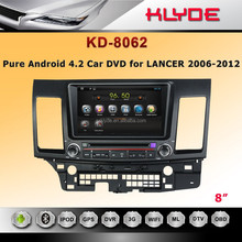 in dash touch screen car DVD player GPS Capacitive Multi-touch Screen Android 4.2 with GPS Ipod DVR digital TV BT Radio 3G/Wifi