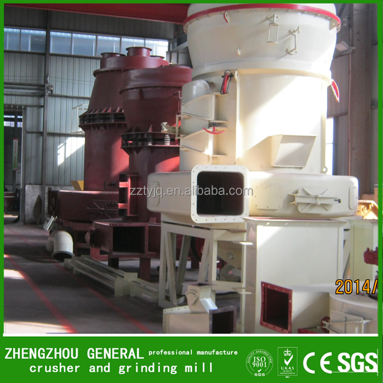 2017 YGM high pressure grinder black stone powder grinding mill supplier