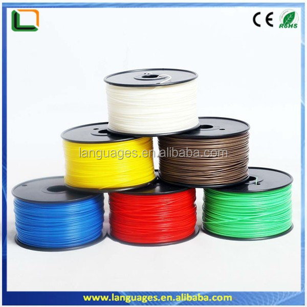 abs filament 1.75mm abs pc plastic rod ,abs 3d printer filament