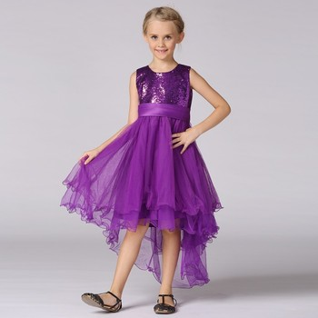 2017 Hot Sale New Design Plus Size Gown Kids Dress Photo Baby Girl
