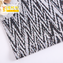 China wholesale market Keqiao supplier polyester metallic jacquard knitting fabric