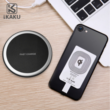 New inductive universal qi wireless charger charging pad mat receiver card for iphone android cell phones