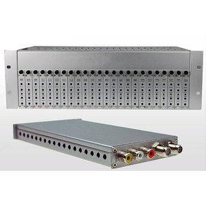 CATV Headend 24 in 1 AV to RF Modulator with Fixed Channel for Analog System