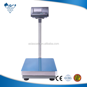 digital carbon steel industrial platform weight scale 100kg