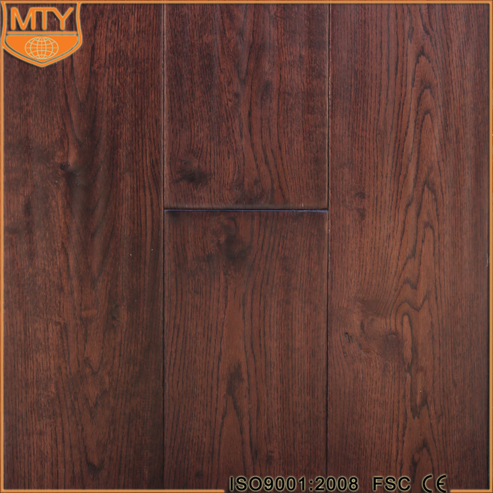 E-23 ISO 9001 3 Layers Red Oak Laminate Flooring
