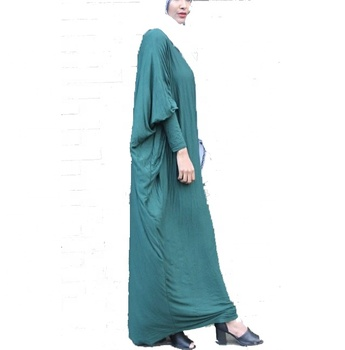 a9a204dbab97a Jersey Loose Abaya Designs Muslim Clothing For Women (16050601 ...
