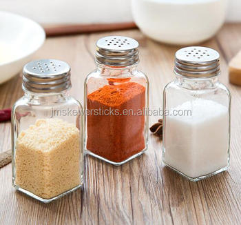 glass spice pot - Glass Spice Jars