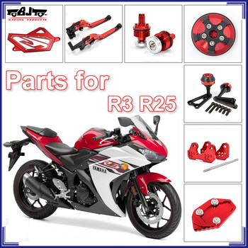 Custom Motorcycle Parts For Yzf R25 Top Accessories For Yamaha R3 - Buy For  Yamaha Motorcycle Parts,For Yamaha R3,For Yamaha Parts Product on