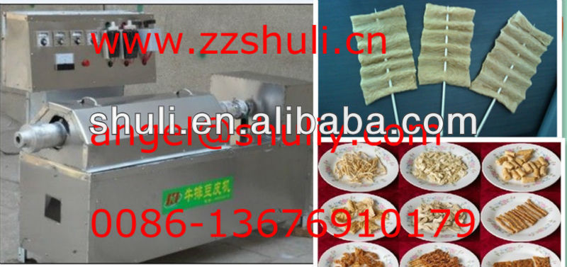Artificial soya protein meat machine0086-13676910179