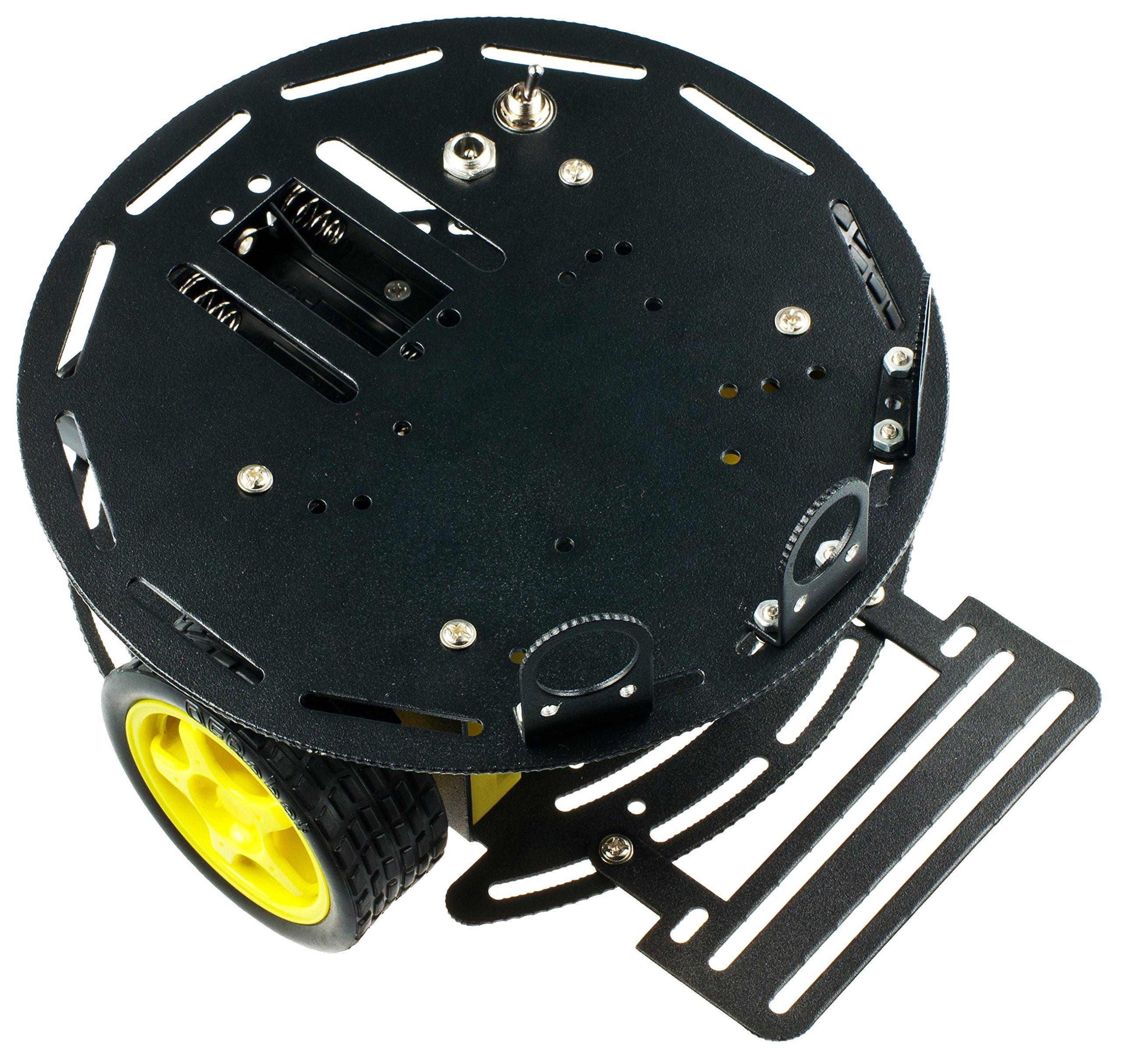 DFRobot Turtle: 2WD Arduino Mobile Robot Platform