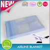 2017 Top 10 Wholesale Comfortable Knitted modacrylic airline blanket
