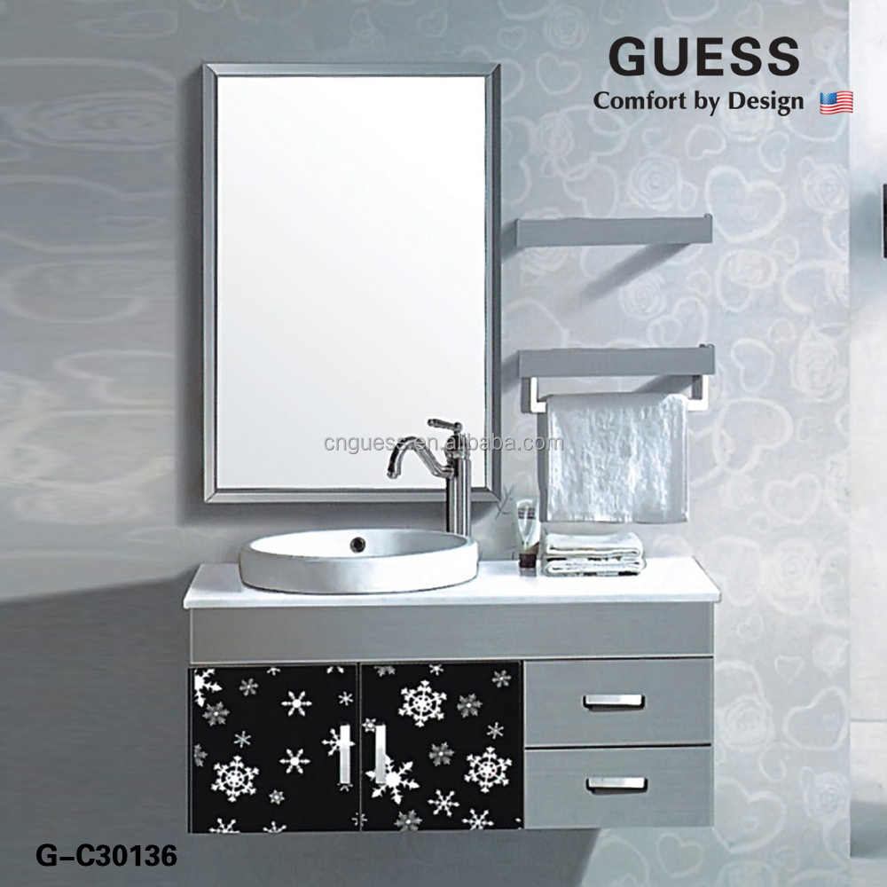 Stainless Steel Bathroom Vanity Cabinet, Stainless Steel Bathroom Vanity  Cabinet Suppliers And Manufacturers At Alibaba
