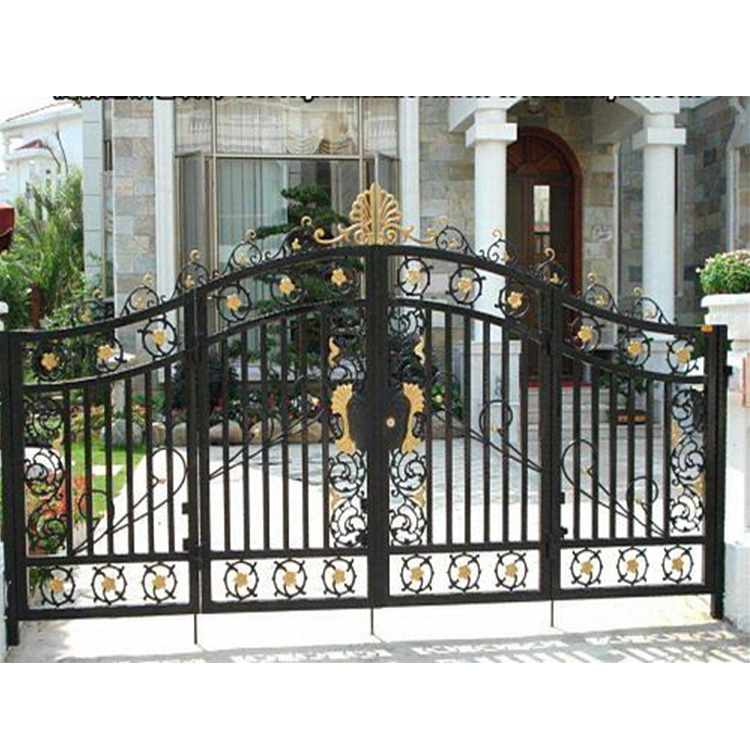 Garden doorway Decorative house pictures wrought iron gate designs