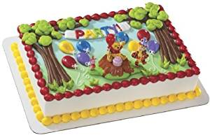 WINNIE The POOH Tigger PIGLET Magic Balloon Party CAKE Decoration Decor Kit SET
